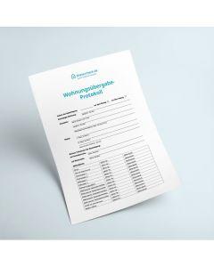 Wohnungsübergabe-Protokoll